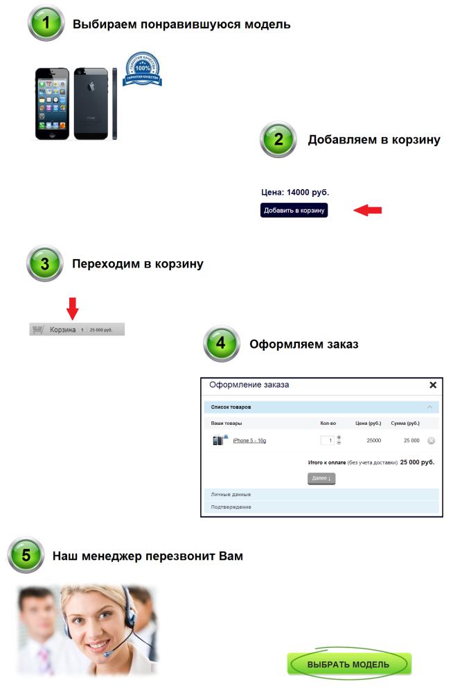 Купить iPhone в Омске
